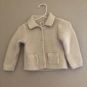 Gap Brannan Cardigan sweater 6-12months